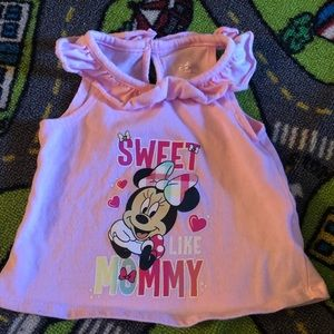 Minnie Mouse outfit 3-6 months